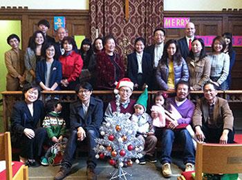 Korean Congregation after Christmas worship