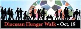 Diocesan Hunger Walk - Oct. 19, 1:30pm at Lake Needwood
