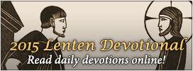 2015 Lenten Devotional