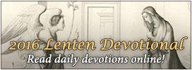 2016 Lenten Devotional