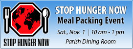 Stop Hunger Now - Nov 1, 2014